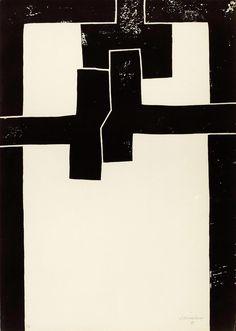 © Eduardo Chillida, Barcelona I, ,71 x 50 cm (1971).