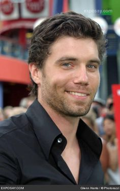 Anson Mount...that is what he looks like without all that hair and beard!  Oh, that smile.