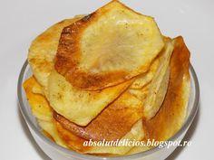 Absolut Delicios - Retete culinare: CHIPSURI DE CARTOFI LA CUPTOR