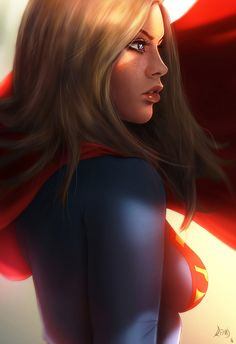 Supergirl - Art by Reha Sakar