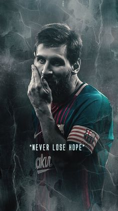 Lionel Messi of Barcelona wallpaper.