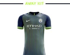 Manchester City Football Kit 18/19.