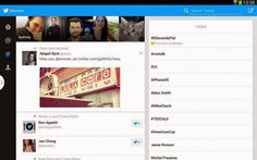 Twitter has unveiled a new version of its Android application, especially designed for tablets. It offers a revised and corrected design better advantage of the available space, especially in landscape mode. It is against relatively limited as it is... - See more at:  Net4Tech