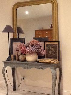 Une façon de décorer un miroir