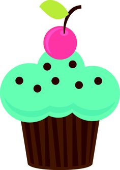 free cupcake clip art delightful distractions clip art free and rh pinterest com
