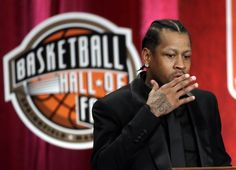 Emotional Allen Iverson to John Thompson: 'Thank you for saving my life.'