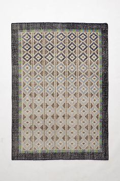 Hand-Knotted Diamante Rug