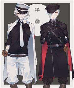 Fashion, wallpapers, quotes, celebrities and so much Touken Ranbu, Anime Girl Neko, Anime Art Girl, Manga Anime, Cool Anime Guys, Cute Anime Boy, Anime Boys, Anime Uniform, Valkyria Chronicles