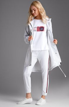 Стена In the last 30 years, the evolution of fashion has been doing parallel with Sport Style, Sport Chic, Sport Outfits, Casual Outfits, Sport Mode, Hijab Fashion, Fashion Outfits, Hijab Stile, Sport Fashion
