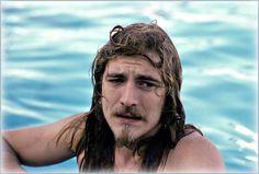Robert Plant taking a dip....