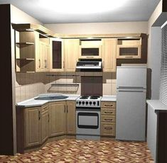 69 Trendy Home Design Kitchen Small Cabinets Ikea Cupboards, Small Kitchen Cabinets, Mini Kitchen, Kitchen Small, Kitchen Interior, Kitchen Decor, Design Kitchen, Small Apartment Kitchen, Architectural Design House Plans