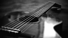 Lady between the strings