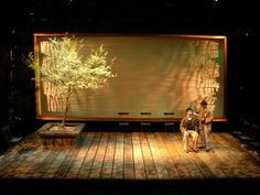 The Man Who: A Theatrical Research, by Peter Brook. Set design by Andrew Birdzell.
