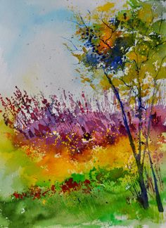 Watercolor 119060 - by artist Pol Ledent