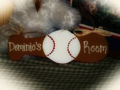 Hey, I found this really awesome Etsy listing at http://www.etsy.com/listing/89162988/baseball-personalized-childrens-sign