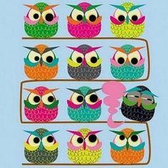 One stinky owl (324 pieces)