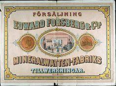 Mineralwater factory, Helsinki Finland 19th century
