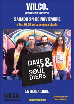 Concierto de Dave & The Souldiers  www.thisiswilco.com