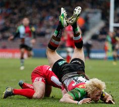 Quins' Matt Hopper hits the deck Super Rugby, Six Nations, Rugby World Cup, Espn, Scores, Champion