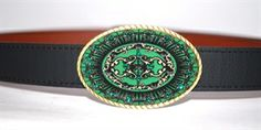We now have #minibuckles #belts Emerald City Mini-Buckle $6.50 Flat rate shipping in US! #gifts #holiday