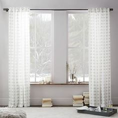 Cotton Canvas Nova Curtain