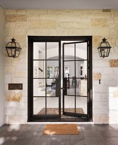 57 Ideas For Steel Front Door Entrance Glasses Exterior Doors, House Design, Home Remodeling, Steel Doors, Steel Front Door, Farmhouse Style House, Doors Interior, House Front