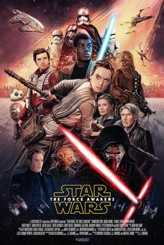 'Star Wars: The Force Awakens' by Sam Gilbey