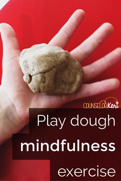 gingerbread play dough mindfulness exercise script for elementary school counseling classroom guidance lessons or small group counseling! -counselor keri