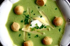 Zupa krem z groszku - Codogara.pl | Pea creme soup http://www.codogara.pl/8226/zupa-krem-z-groszku/