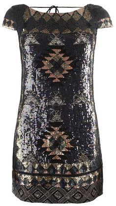 party dress  AllSaints    Paloma Cap Sleeve Dress