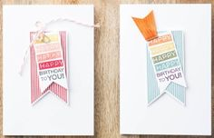 So Shelli - So Shelli Blog - My August Stamp, Chat, and Snack Event (Amazing Birthday Cards)