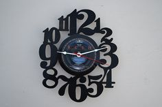Vinyl Record Album Wall Clock artist is Rush by vinylclockwork, $23.00