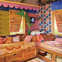 The Guest Room - Bohemian Jamaican Beach Cottage - Coastal Living