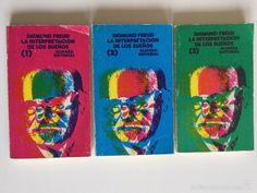 SIGMUND FREUD - LA INTERPRETACIÓN DE LOS SUEÑOS - ALIANZA EDITORIAL VOLUMENES 1,2,3 COMPLETA (Libros de Segunda Mano - Ciencias, Manuales y Oficios - Medicina, Farmacia y Salud)
