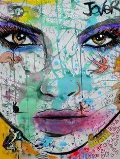 """Saatchi Online Artist Loui Jover; Drawing, """"lucky spirit"""" #art"""