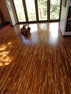 11 Tiger Stripe Bamboo Flooring Ideas