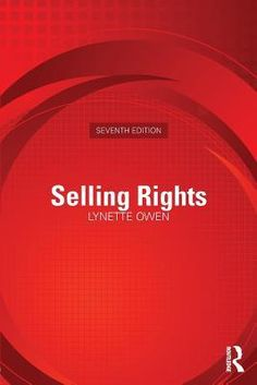 Selling Rights, 7th ed., by Lynette Owen #nonfiction #businessbooks #publishing