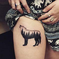 Howling wolf by Marjorianne