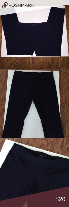 Eileen Fisher blue ankle pants in stretch crepe Eileen Fisher blue ankle pants in stretch crepe Eileen Fisher Pants Ankle & Cropped