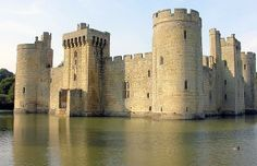 England - East Sussex - Bodiam Castle