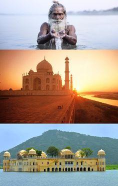 Taj Mahal and Ganges Tour - 7N/8D - Delhi - Jaipur - Agra - Varanasi – Private Tours in India - http://daytourtajmahal.in/taj-mahal-and-ganges-tour-7n8d