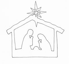 Pin by shelly Rea on christmas Christmas Jesus, Christian Christmas, Preschool Christmas, Christmas Nativity, Christmas Signs, Simple Christmas, Christmas Crafts, Christmas Baby, Simple Nativity