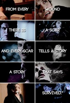 i hate that Isaac left. Isaac and Scott all the way :)
