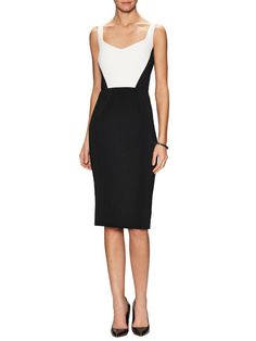 Rushmore Colorblock Sheath Dress by Jay Godfrey at Gilt