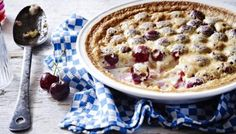 Raymond Blanc shares his simple recipe for a classic clafoutis. Other stone fruits would also work well in this dish. Try peaches, plums or apricots.