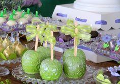 Maçãs Verde de Chcoocolate - Fonte: Festa Provençal