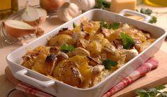 Rozvoňajú kuchyňu: Cesnakovo-cibuľové zemiaky | DobreJedlo.sk