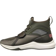 0cdcfbc7586cbb Size 5 or 5.5 - Puma Womens Selena Gomez Phenom Trainers Olive Night