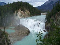 Wapta Falls, in Yoho National Park, Canada