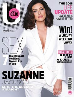 Suzanne Jackson ----------------------------------------- Booking: influencers@andrea.ie ------- #model #topmodel #modelagency #fashion #beauty #makeup #glam #glamor #glamour #glamorous #makeupgoals #curls #accessories #contour #hairgoals #print #photoshoot #tan #magazine #enews #heels #strappysandals #strappyheels #beachhair #dreamhair #longnails #shorthair #bosssuit #whitesuit #powersuit #irish #irishgirl #girlboss #shinyhair #voluminoushair #lashes #eyemakeup #blazer #powerdressing Magazine Covers, Suzanne Jackson, Irish Fashion, Voluminous Hair, Irish Girls, Cruelty Free Makeup, Beach Hair, Shiny Hair